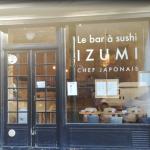 Le Bar à sushi Izumi